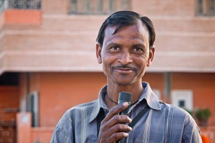 Indisk mand - Illustrationsfoto: Pixabay