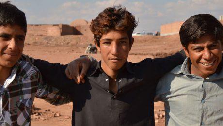 Unge mænd fra Mellemøsten