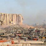 Ødelækkelserne i Beirut - fotograf Elie Hayek SAT-7